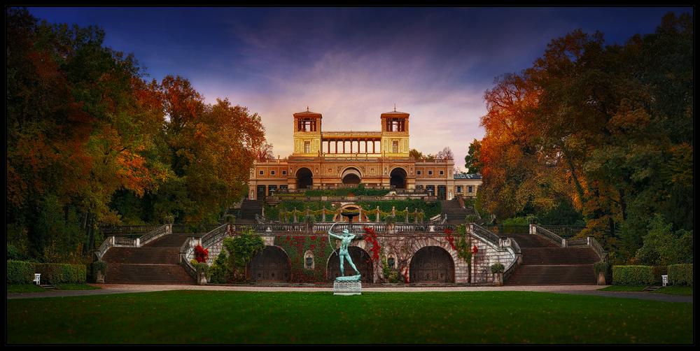 Herbst im Park Sanssouci