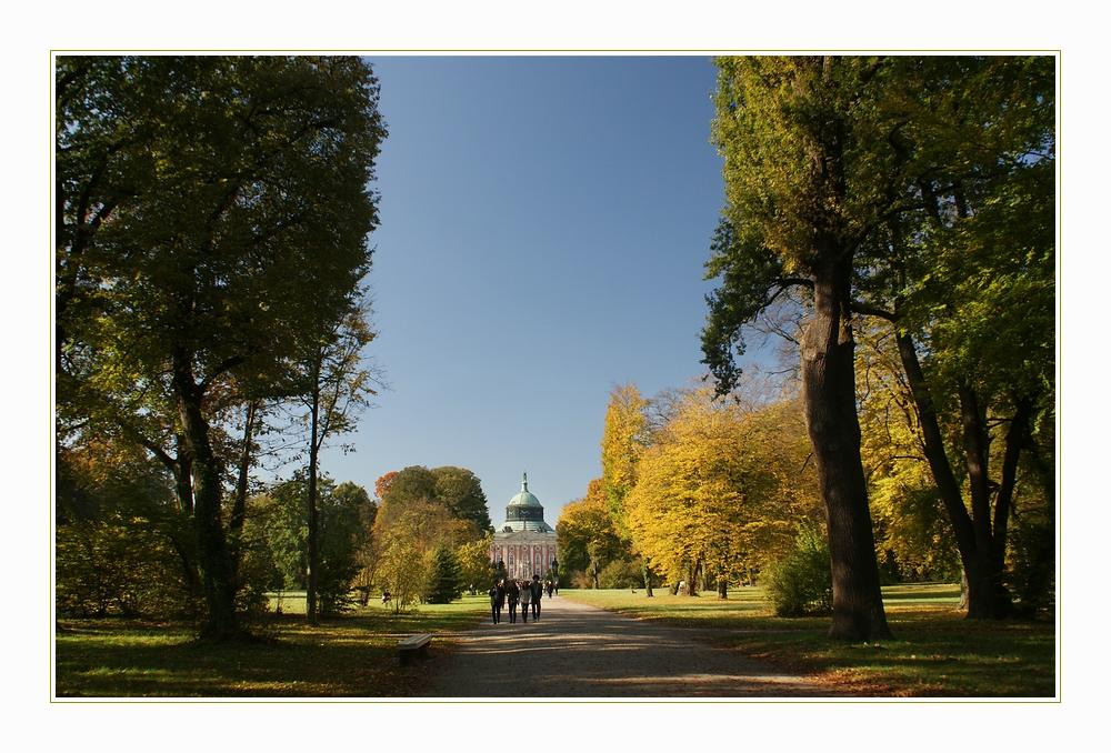Herbst im Park von Sanssouci_1