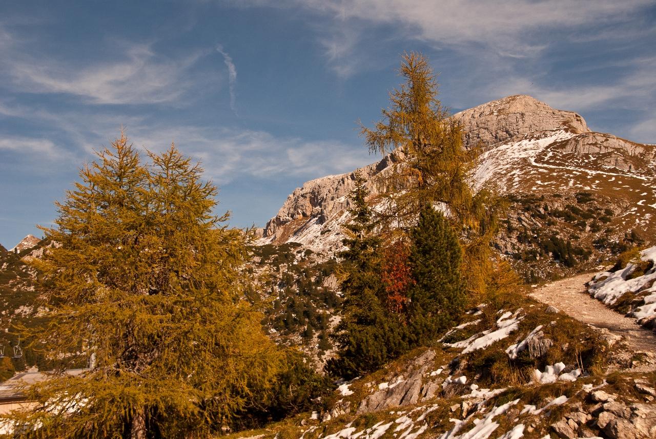 Herbst im Rofangebirge