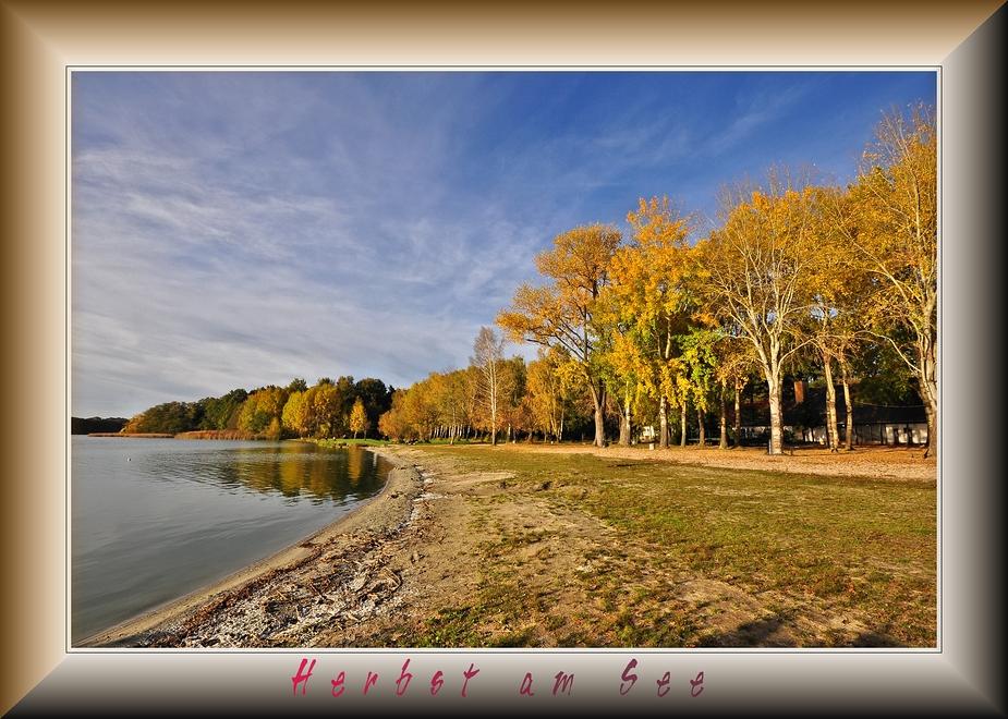 Herbst im Strandbad Rangsdorf........