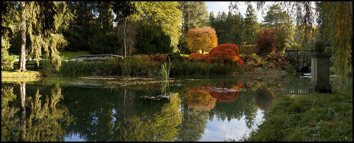 Herbst im Wenkenpark