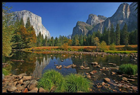 Herbst im Yosemite Valley
