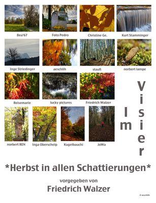 *Herbst in allen Schattierungen* Collage von aeschlih