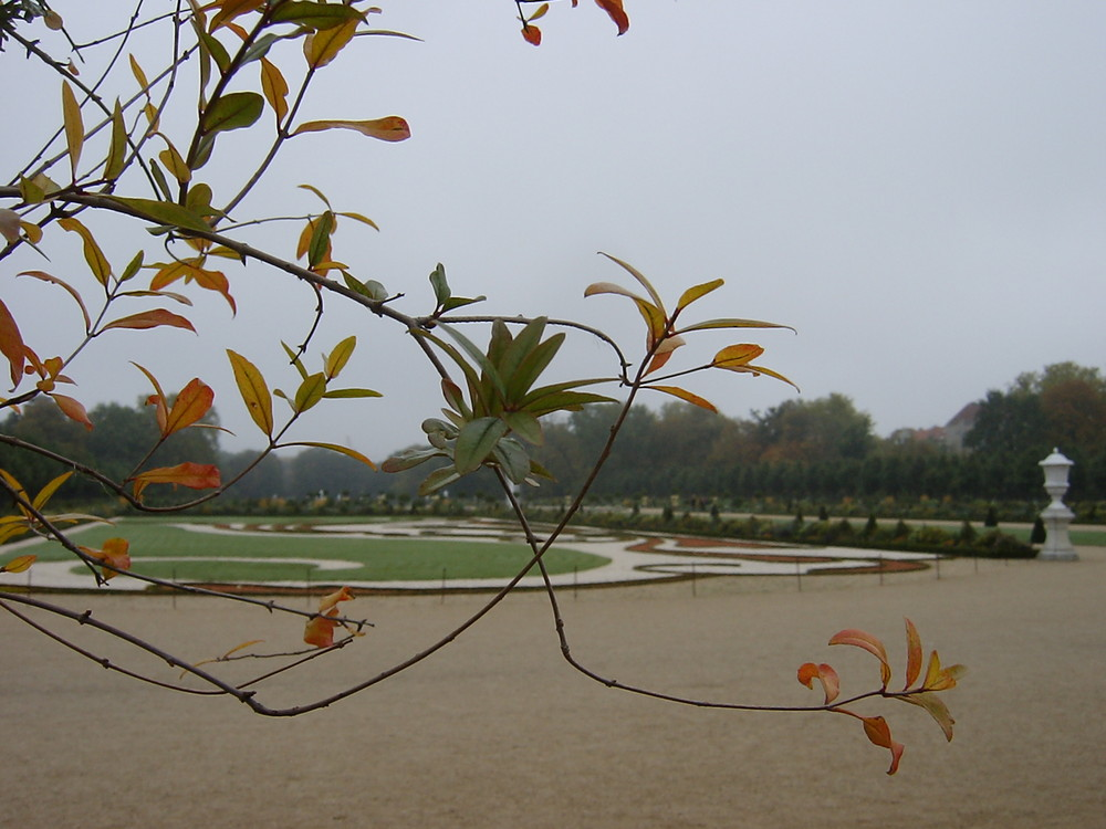 Herbst in Charlottenburg Park, Berlin 2004