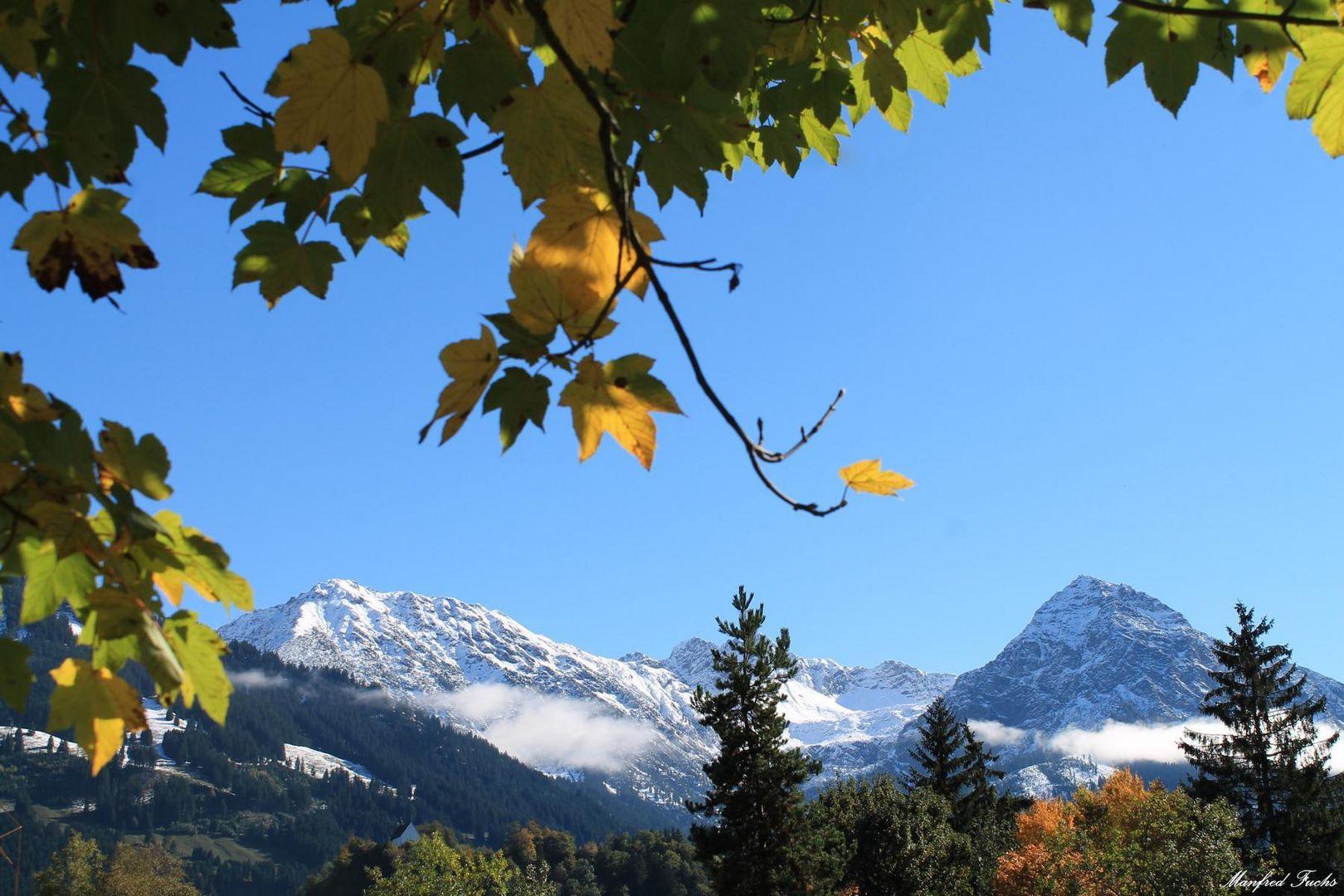 Herbst in den Allgäuer Alpen