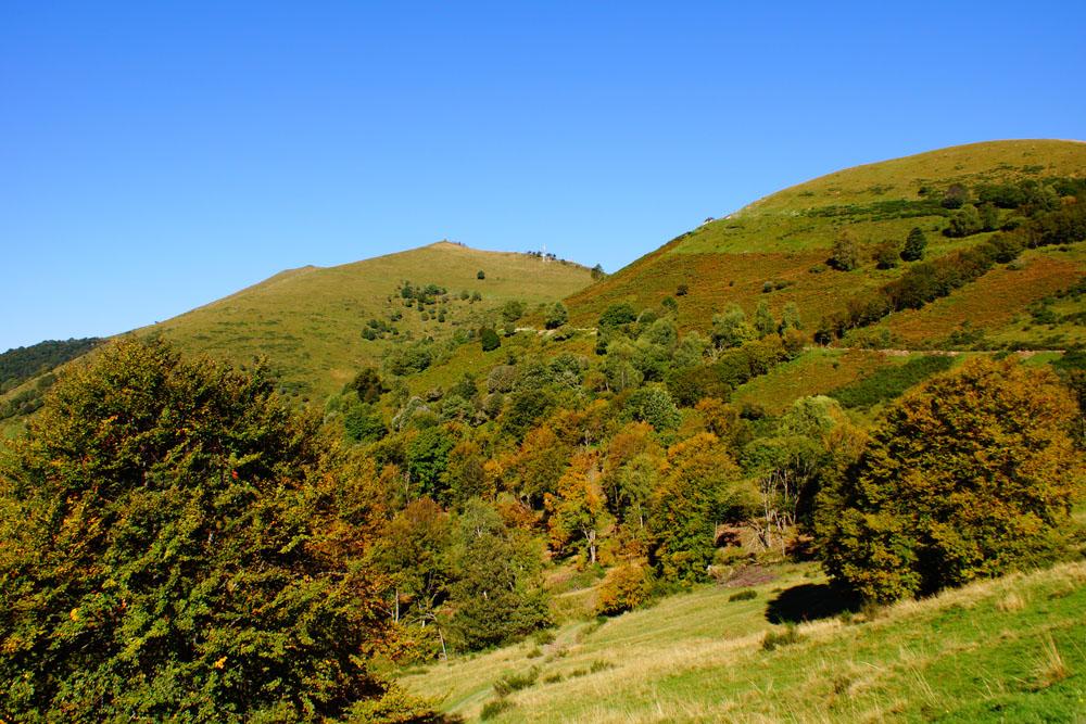 Herbst in den Bergen am Comer See