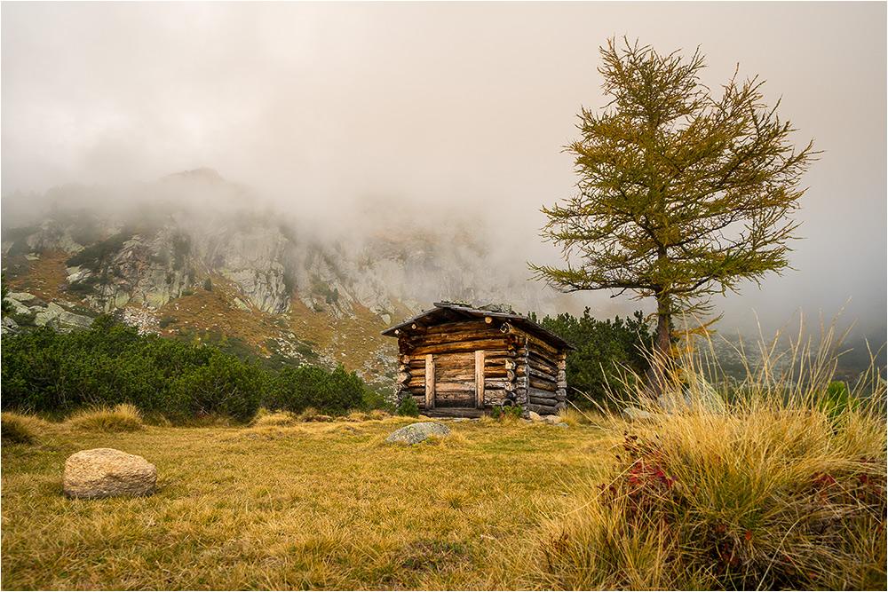 Herbst in den Bergen - das Risa Schipfl