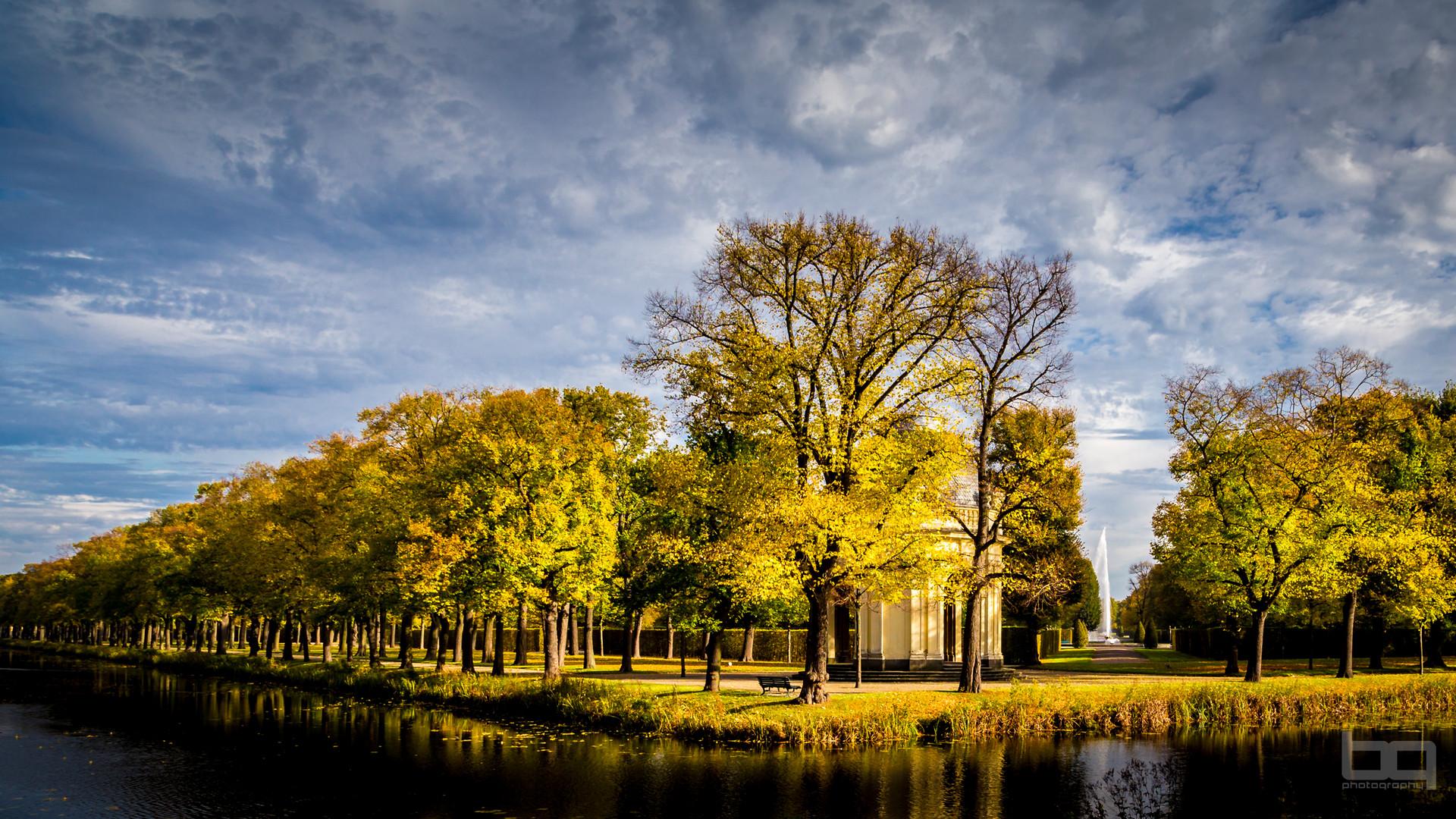 Herbst in den Herrenhäuser Gärten