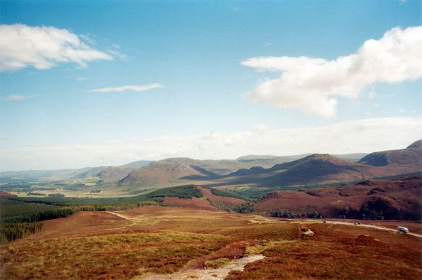 Herbst in den Highlands