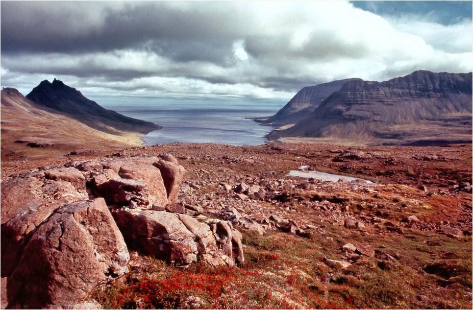 Herbst in den Westfjorden