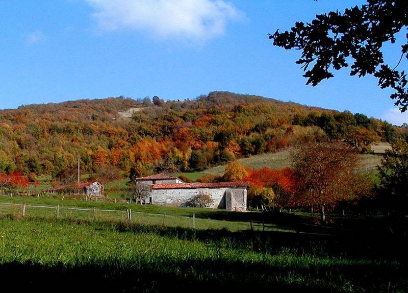 Herbst in der Ariège
