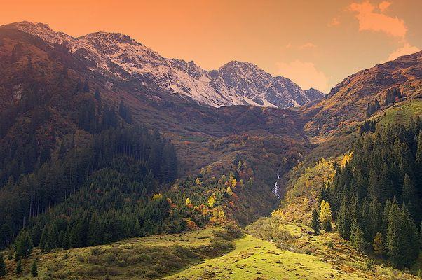 Herbst in der Wildschönau....