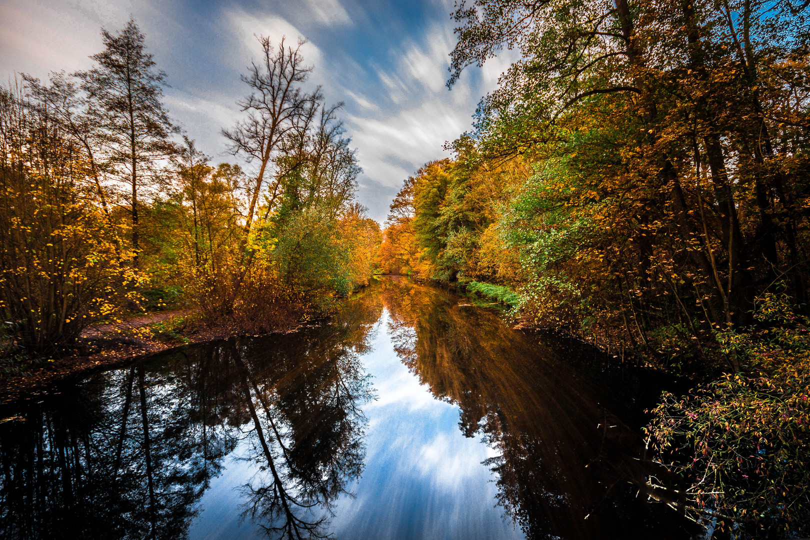 Herbst in Hamburg