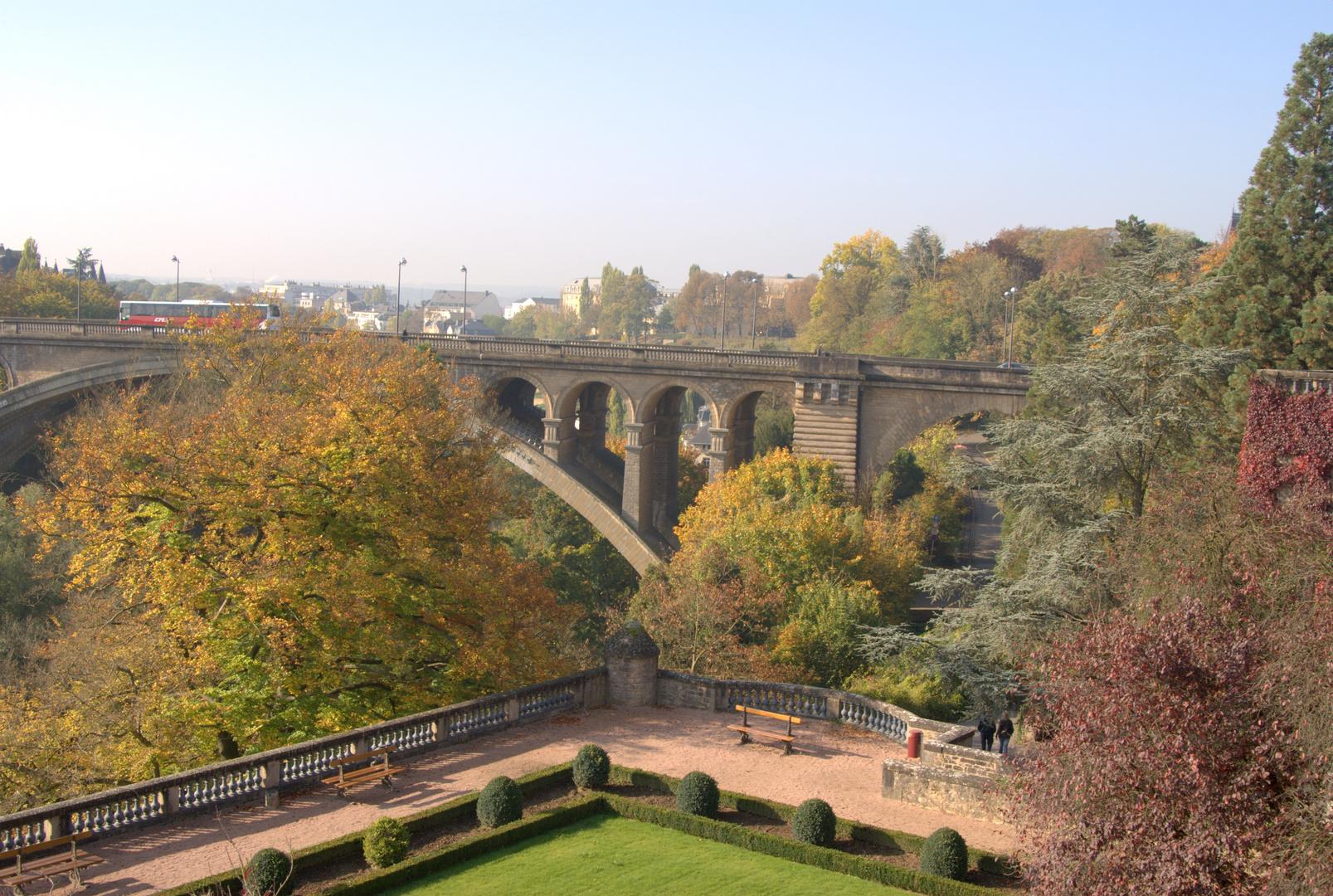 Herbst in Luxemburg