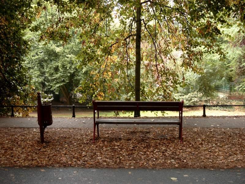 Herbst in Münster, Mitte August nicht normal, oder?