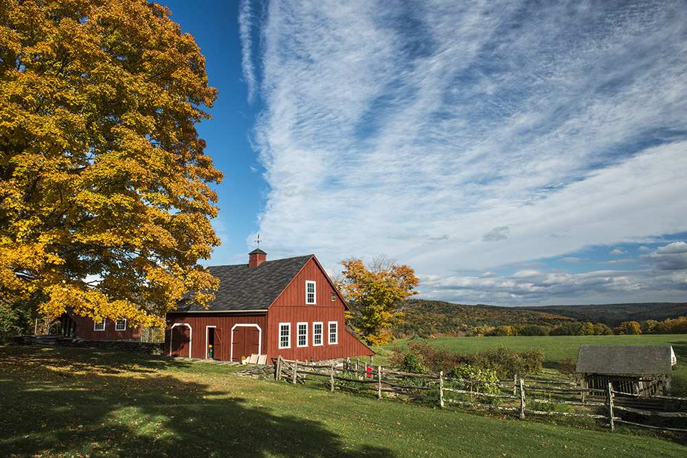 Herbst in New Hampshire