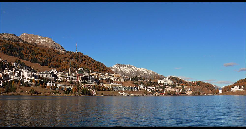 Herbst in St. Moritz