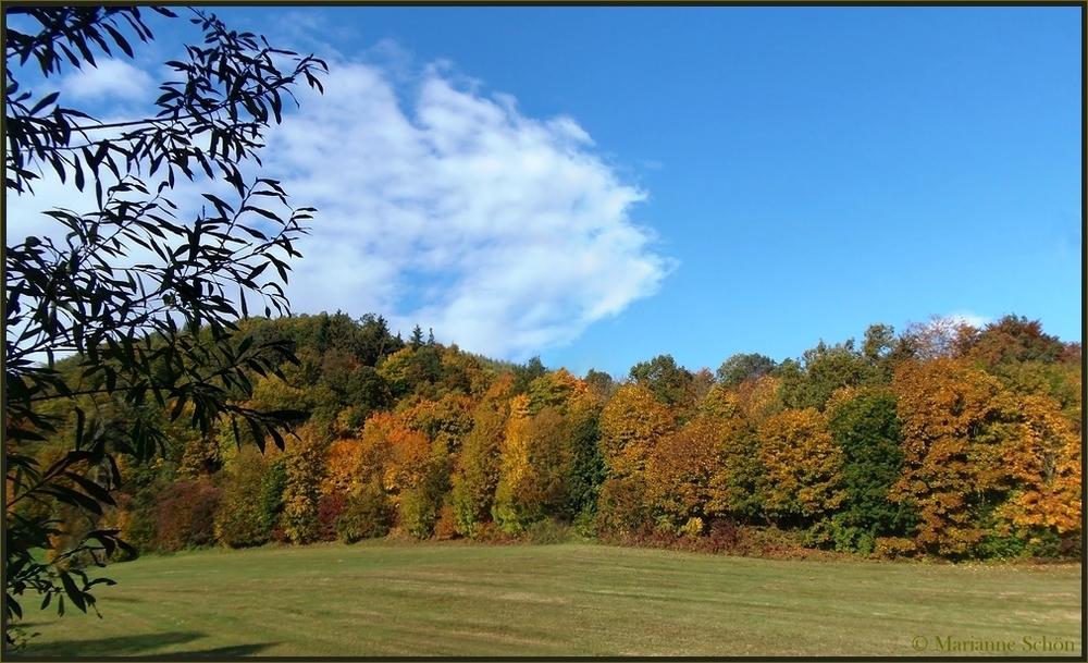 Herbst in Thüringen...