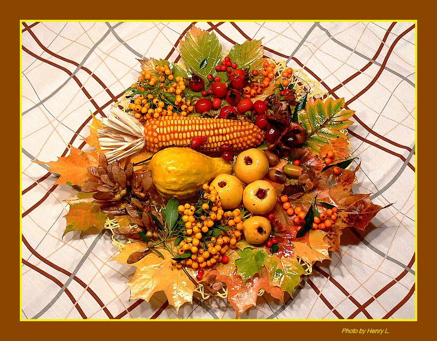 Herbst Komposition von Ela L.