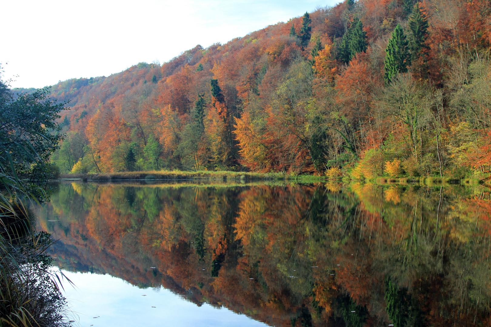 Herbst Spiegelung