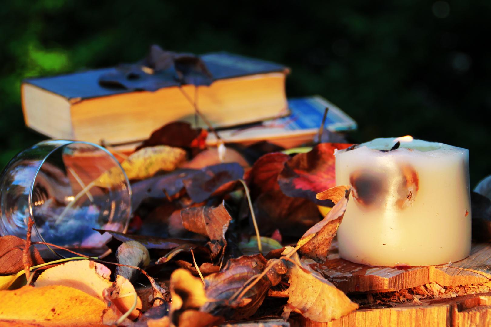 Herbst Tisch