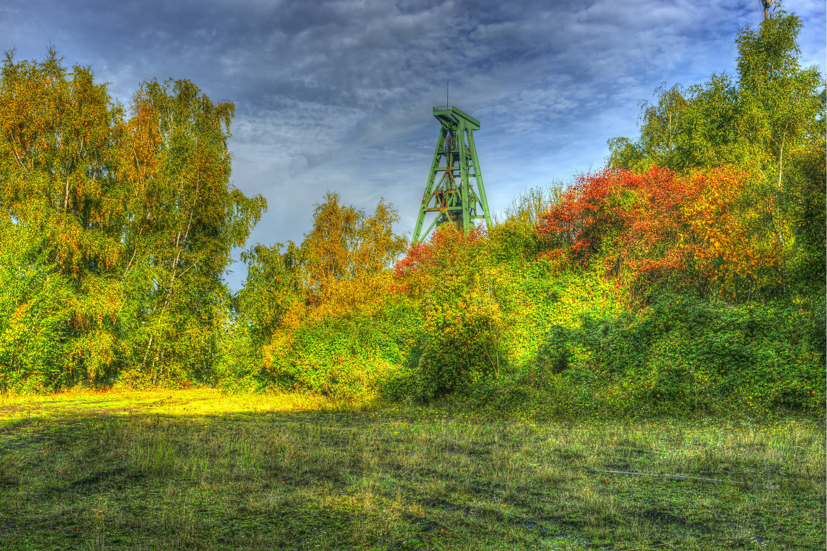 Herbst triff Industrie