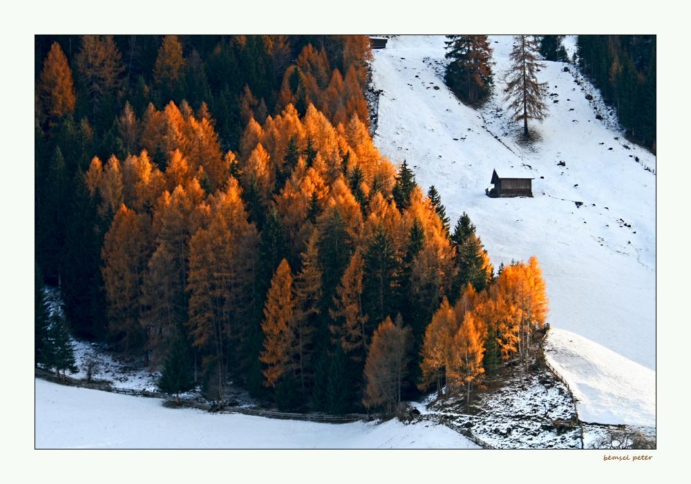 Herbst trifft Winter