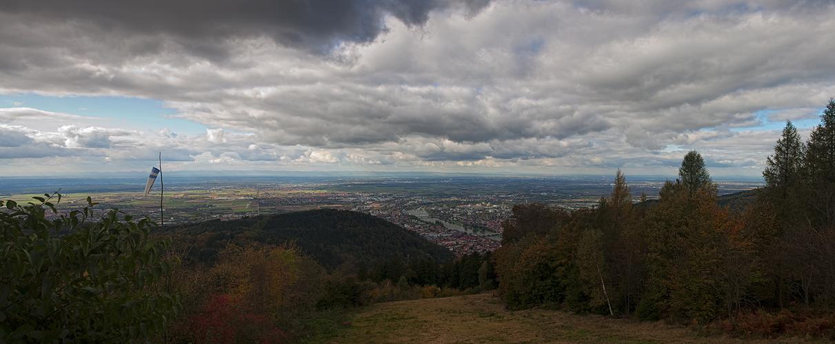 Herbst ... über Heidelberg