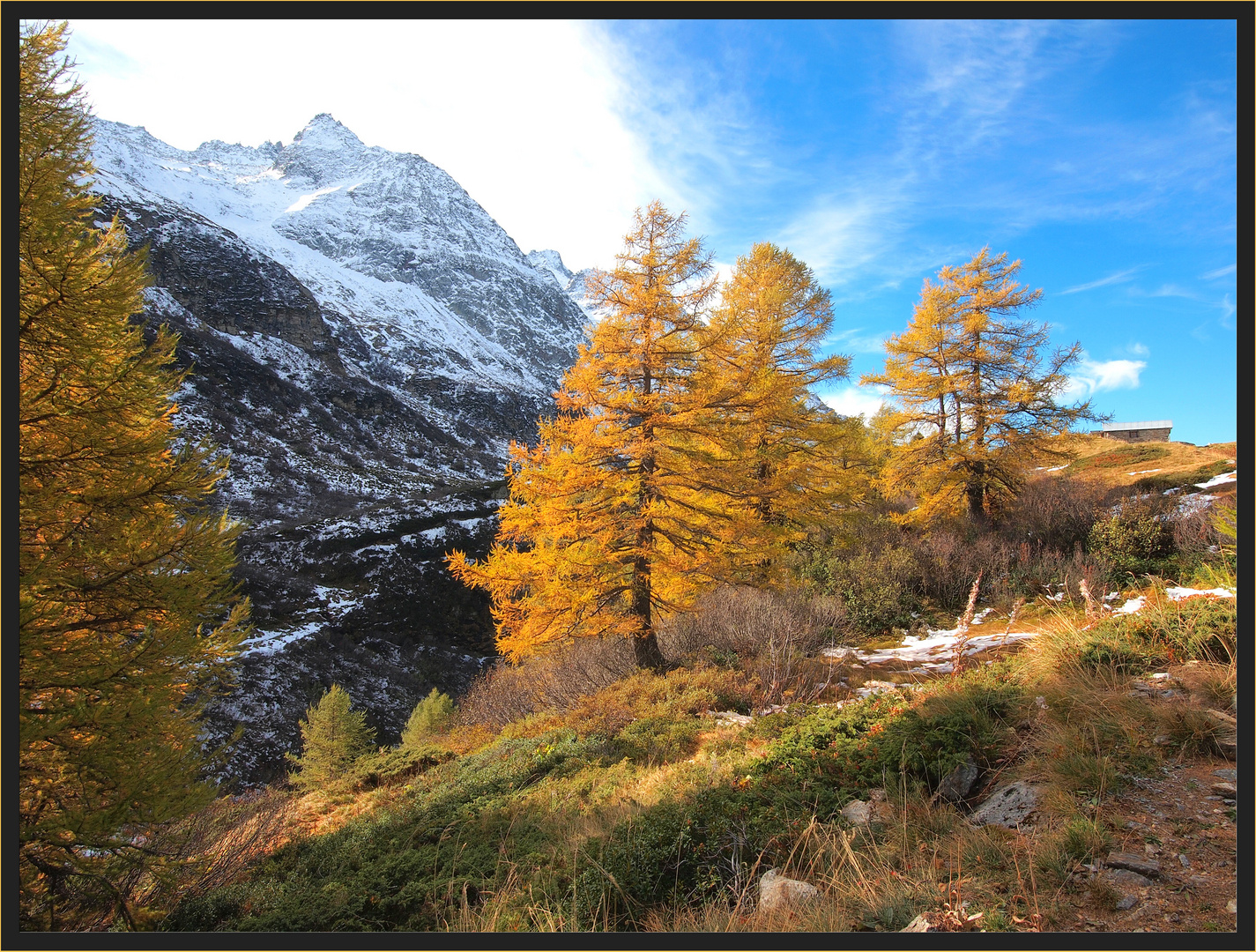 Herbst und Winter...