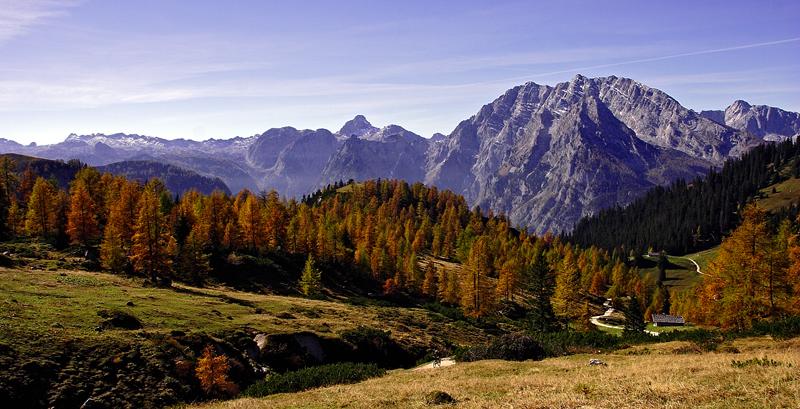 Herbst unterm Watzmann