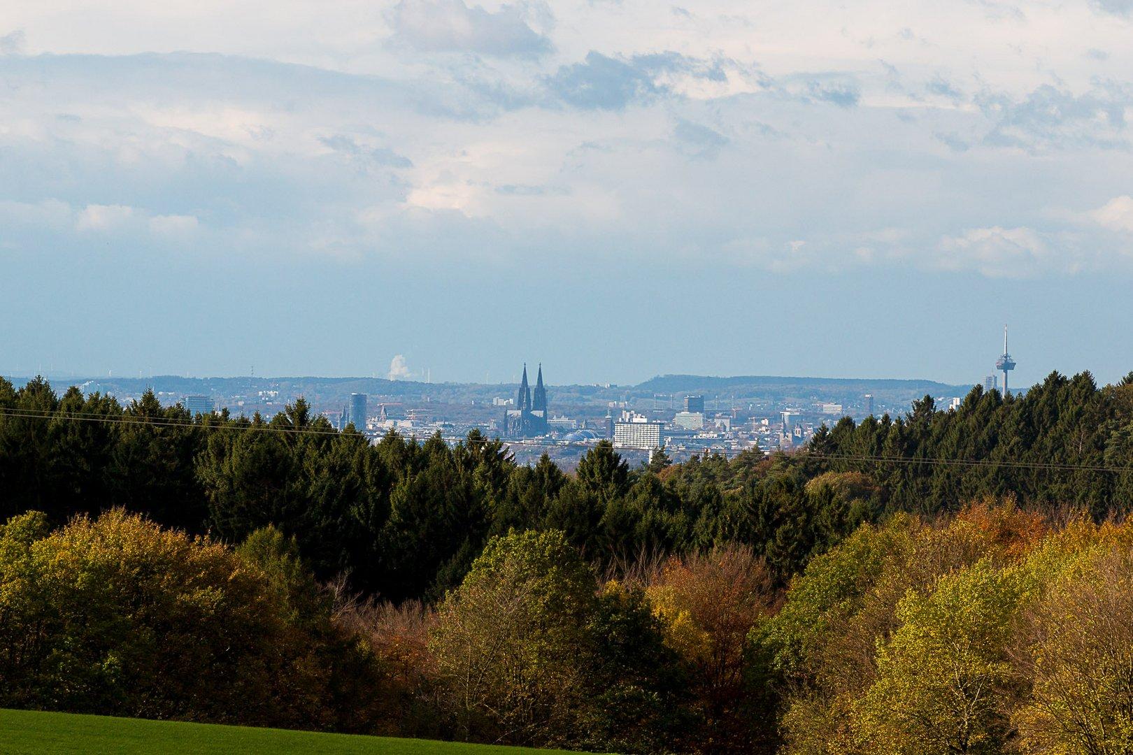 Herbst vor der Stadt