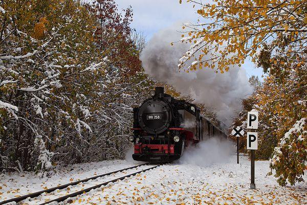 Herbst-Winter-Dampf