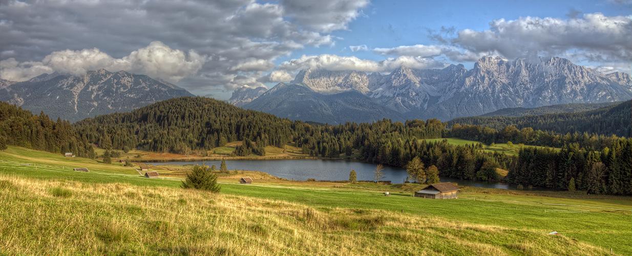 Herbstabend am Geroldsee 2