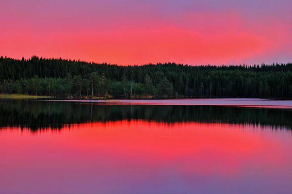 Herbstabend in Värmland 2010