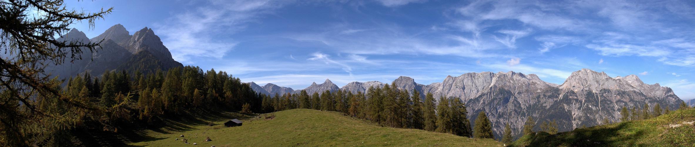 """"""" Herbstanfang in den Alpen 1"""""""