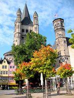 Herbstbeginn in der Kölner Altstadt