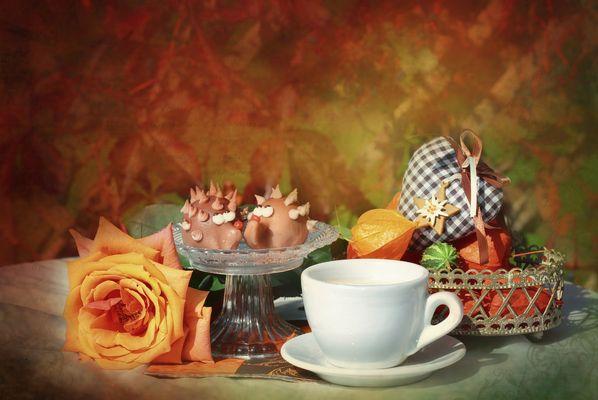 Herbstcafé