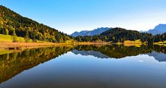 Herbstfarben am Geroldsee