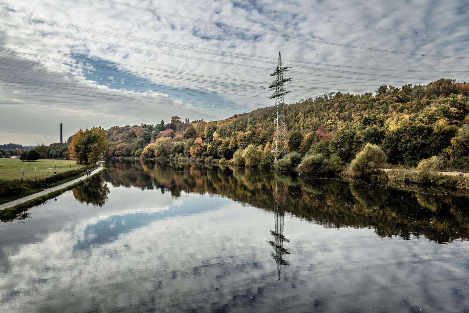 Herbstfarben der Ruhr