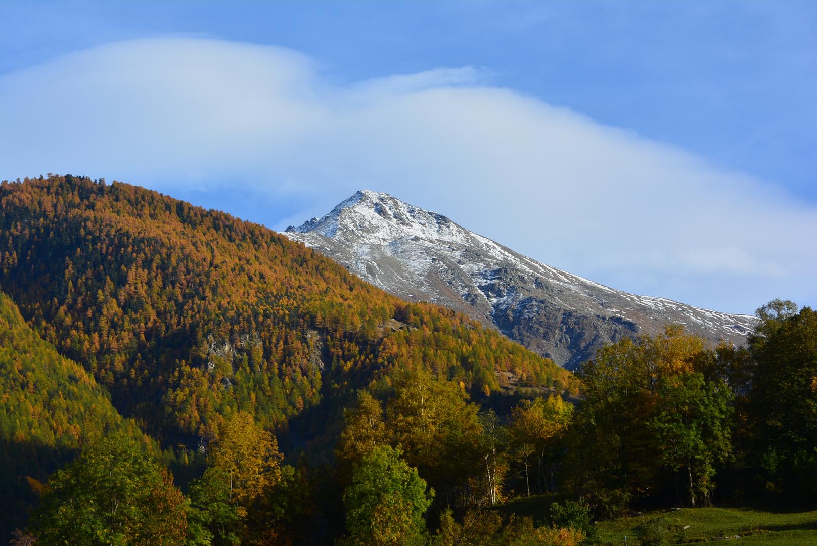 Herbstfarben in den Bergen