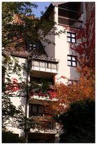 Herbstfassade