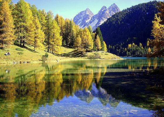 Herbstimmung am Laj da Palpuogna