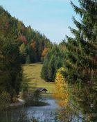Herbstimpression am Lautersee