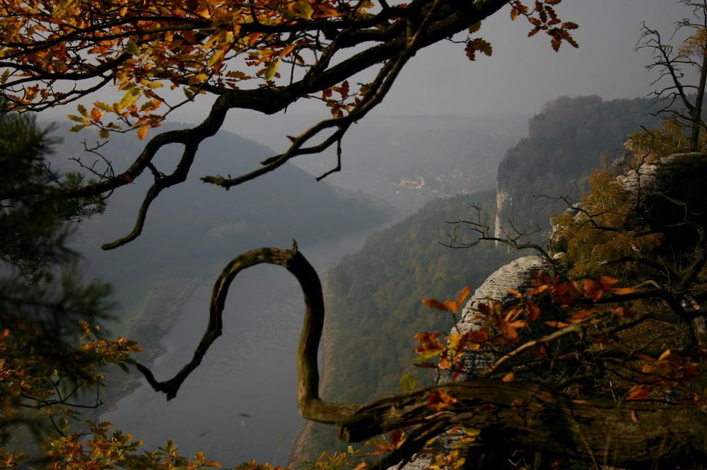 Herbstimpressionen von der Bastei