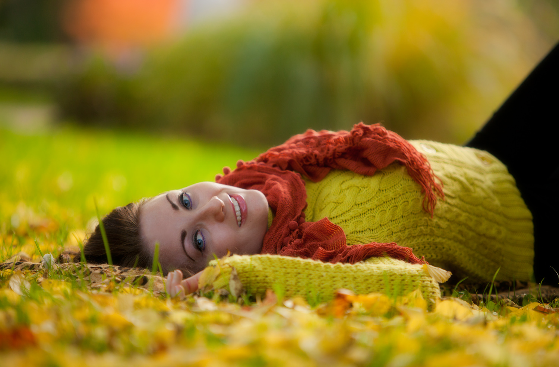 Herbstlächeln