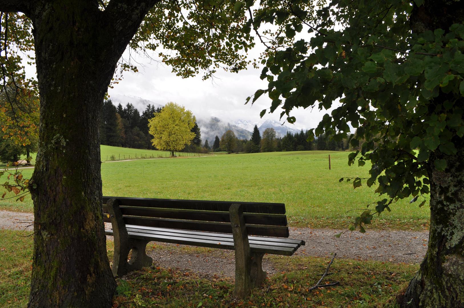 Herbstlandschaft bei Reit im Winkl