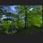 Herbstlaub 3D
