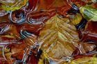 Herbstlaub mit...