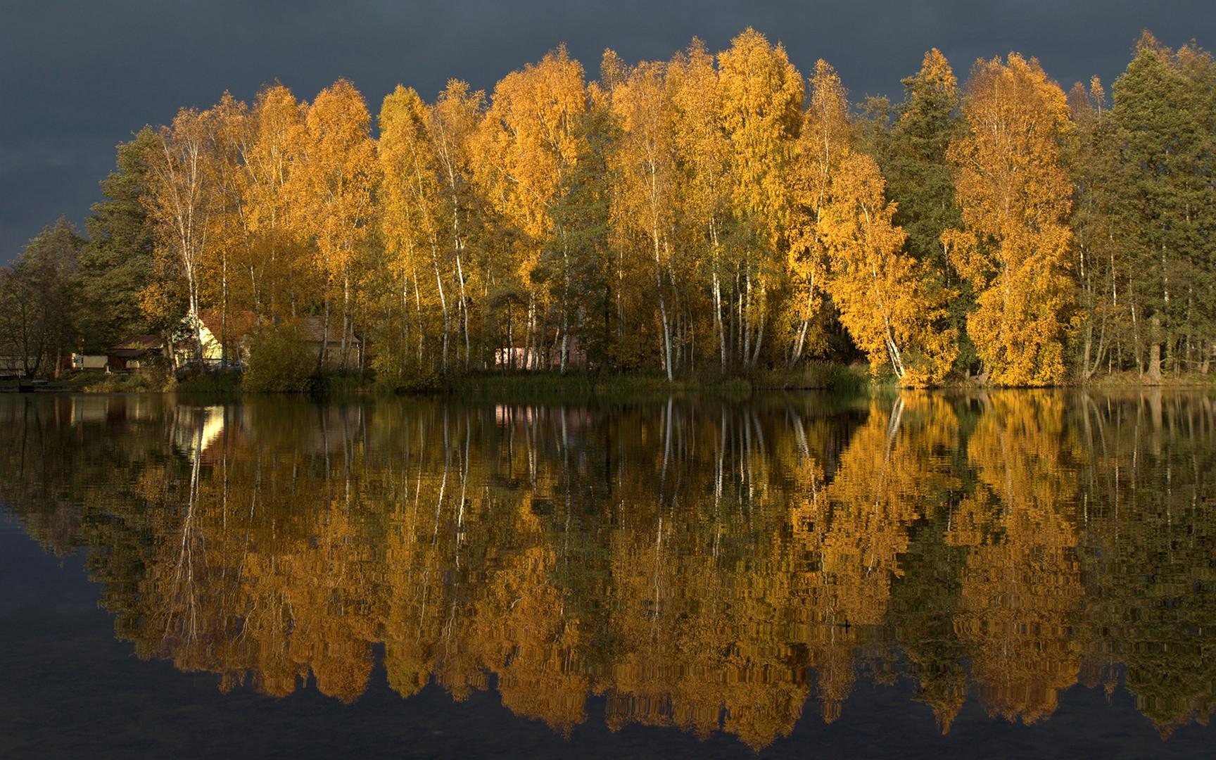 Herbstlich geschmückt