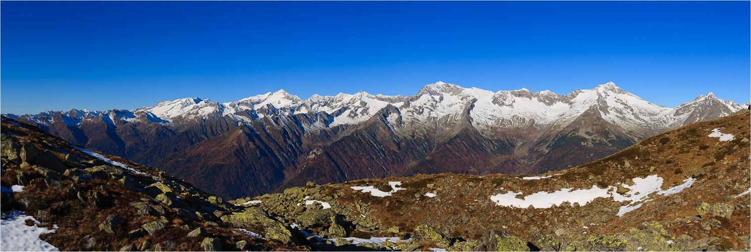 herbstliche Berge
